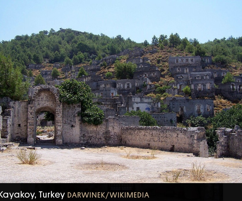 A Turkish Ghost Town Abandoned In A Population Exchange